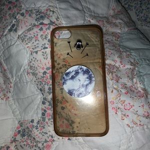 Other - Iphone 7 case w/ pop socket